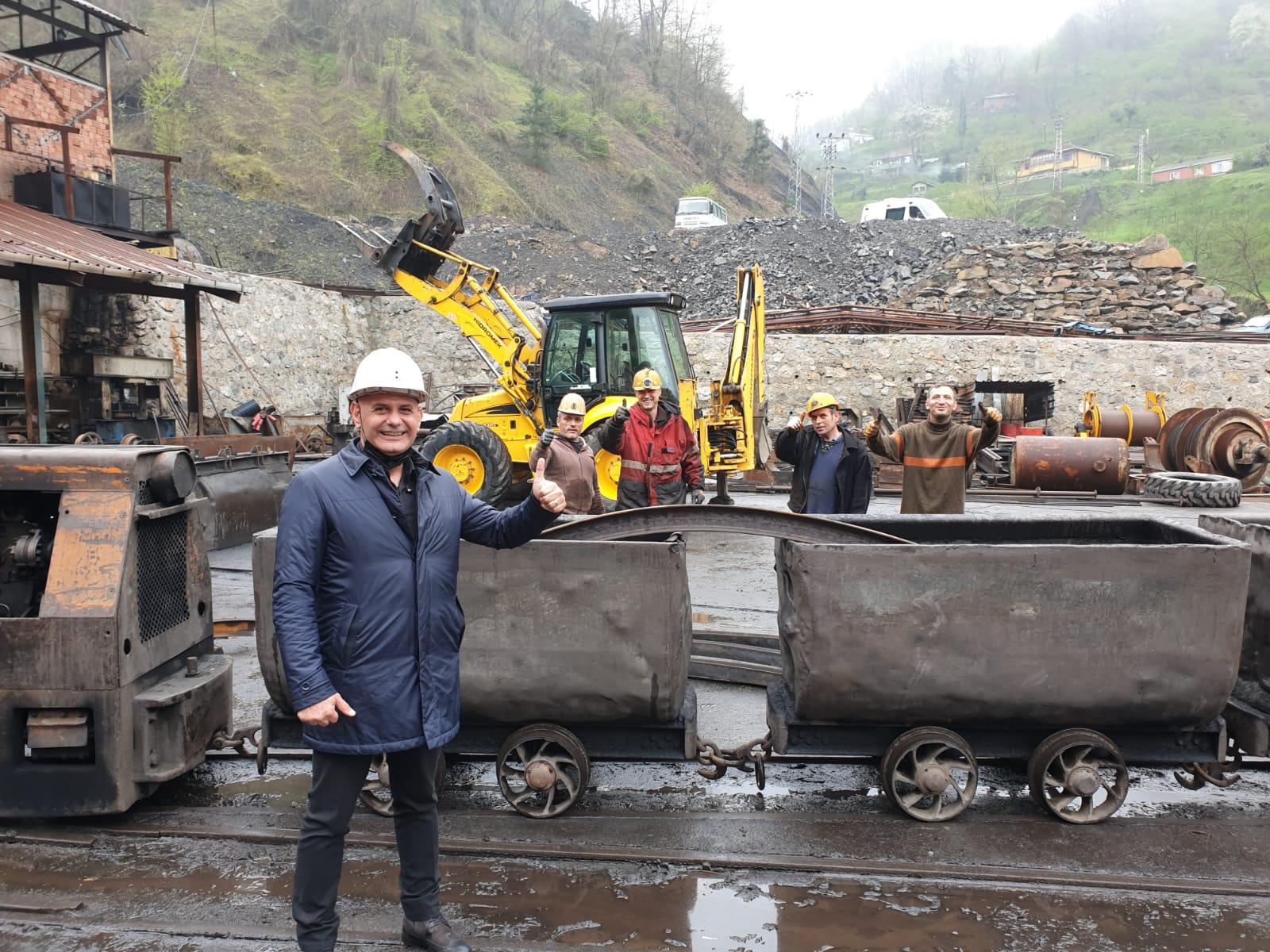 Zonguldak Madenler Ziyareti